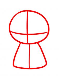 Рисуем чиби Джон Сноу 1