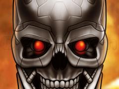 Рисуем череп Терминатора