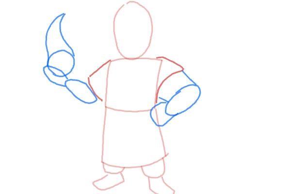 как нарисовать поэтапно колдуна 3