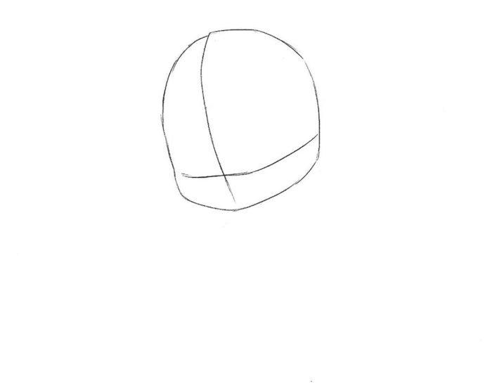 Как нарисовать чиби Эльзу