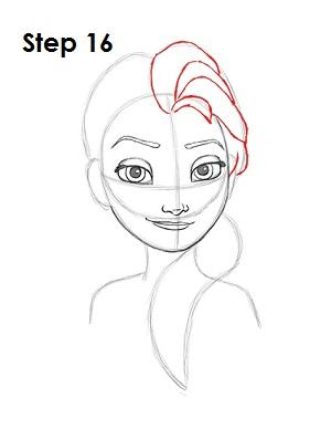 Эльза нарисовать рисунок