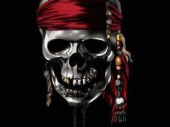 Рисуем череп из Пиратов Карибского моря