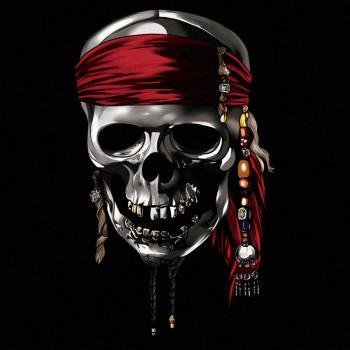 Череп Пираты карибского моря