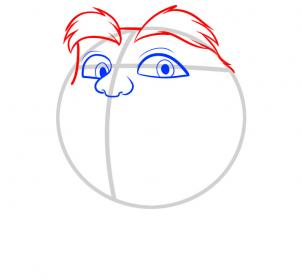 Лоракс как нарисовать