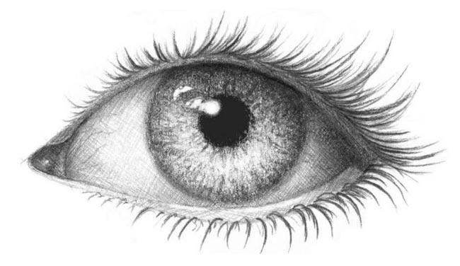 Как нарисовать глаз