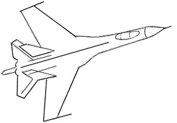 Рисуем самолет