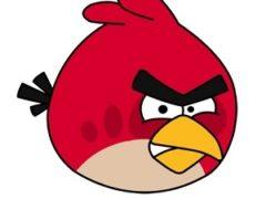 Рисуем птичку из Angry Birds