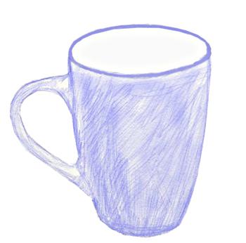 Как нарисовать кружку