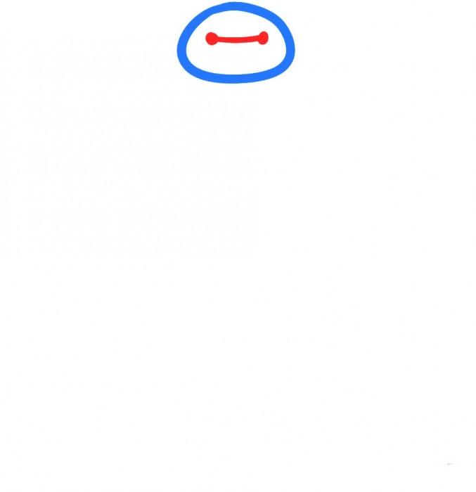 Как нарисовать Бэймакса