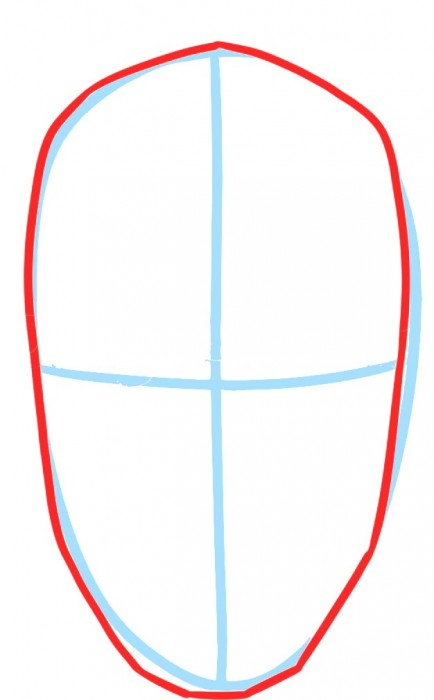 Как нарисовать Дарта Мола