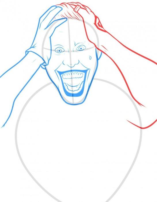 как нарисовать Джокер