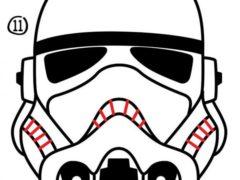 Рисуем шлем пехотинца из Star Wars