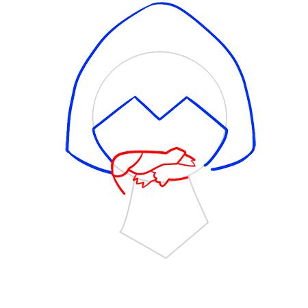 как нарисовать Эцио