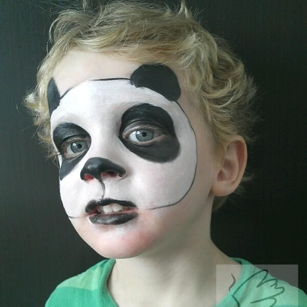Как можно раскрасить лица детей фото