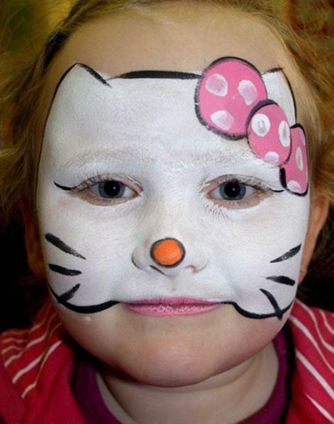 Хэллоуин детский грим