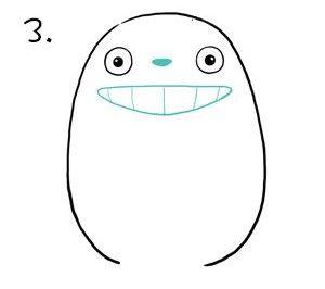 Как нарисовать Тоторо