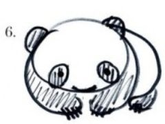 Рисуем панду