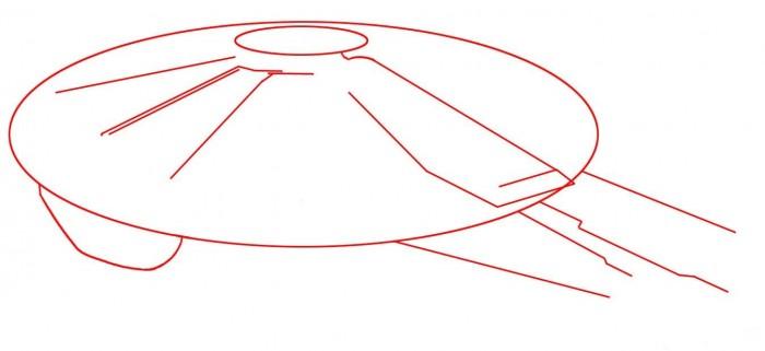 как нарисовать Тысячелетний Сокол