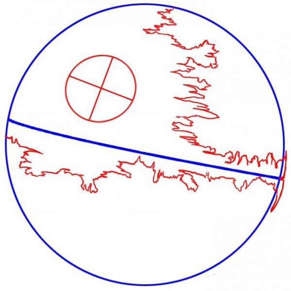 Как нарисовать Звезду Смерти