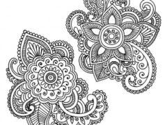 Дизайн для рисунков хной
