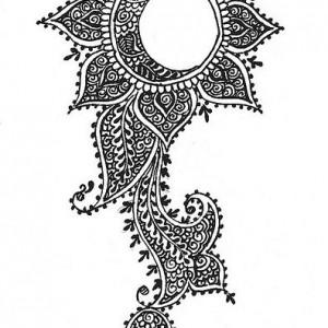 Мехенди дизайн