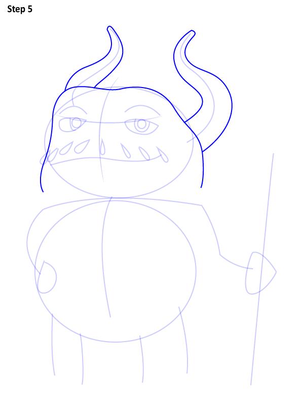 Как нарисовать капитана Смека