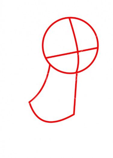 Как нарисовать Ванилопу просто 1