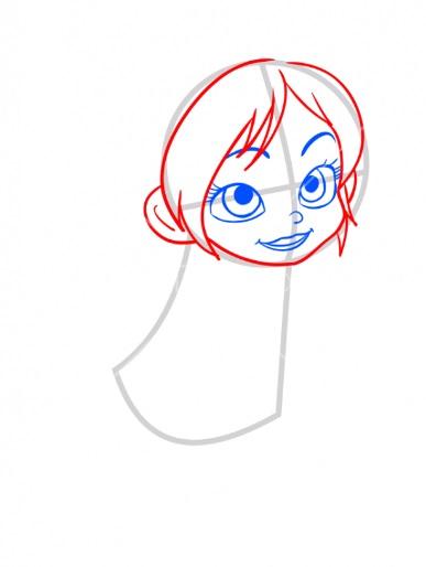 Как нарисовать Ванилопу просто 3