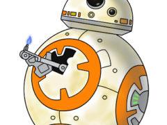 Рисуем BB-8 из Звездных войн