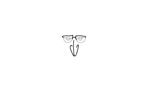 как нарисовать Дракулу из мультика 3