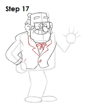 Как нарисовать Стэнли Пайнса