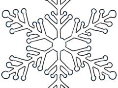 Рисуем снежинку