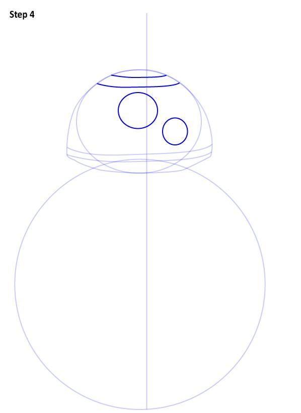 Как нарисовать дройда BB-8