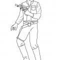 Как нарисовать Хана Соло из Звездных войн