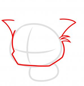 Рисуем рождественского кота