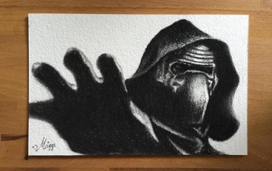 Видео уроки рисования Кайло Рена