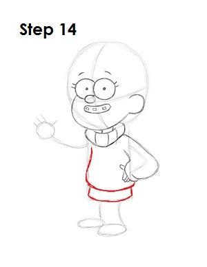 как нарисовать Мэйбл