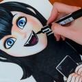 Видео урок как нарисовать Мэвис