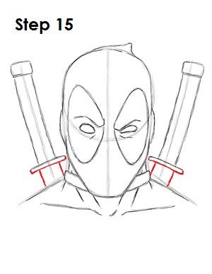 Как нарисовать Дэдпула