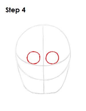 Мишка Фредди - как нарисовать