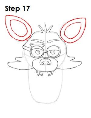 Фокси - как нарисовать аниматроника