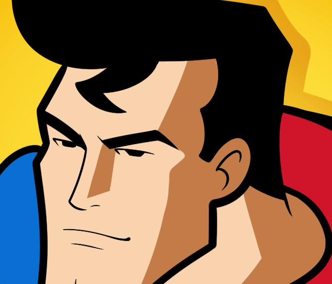 Рисуем Супермена
