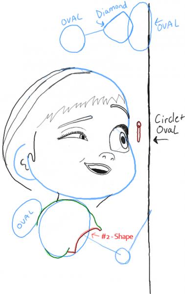 Как нарисовать Анну