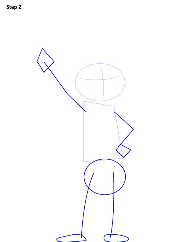как нарисовать Джуди Хопс