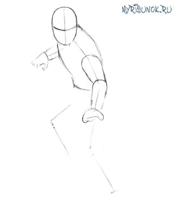 Как нарисовать Рептилию из Мортал Комбат