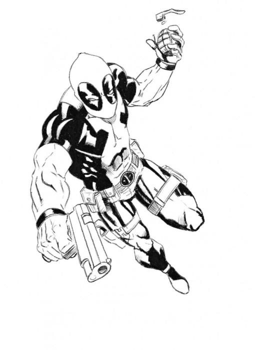 Дэдпул из комиксов