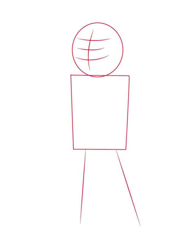 Рисунок Волт Боя 1