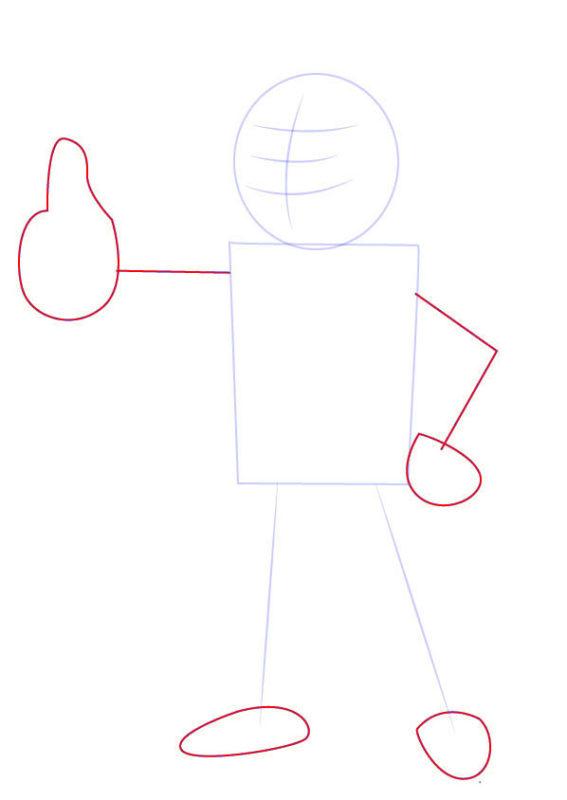 Рисунок Волт Боя 2