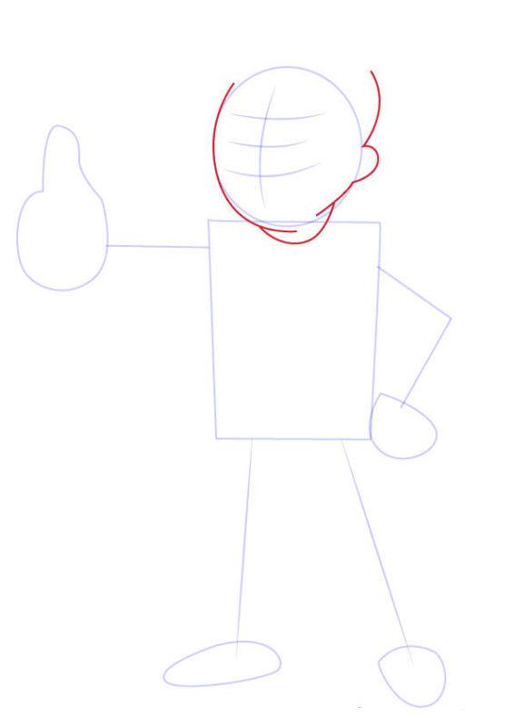 Рисунок Волт Боя 3