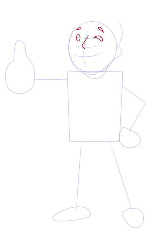 Рисунок Волт Боя 4